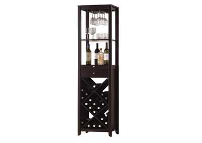 Image for Casey Wenge Wine Cabinet