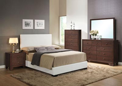 Image for Ireland III White Eastern King Platform Bed