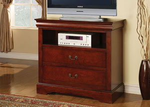Louis Philippe III Cherry TV Console