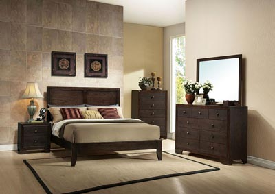 Madison Espresso California King Bed