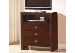 Ilana Brown Cherry TV Console