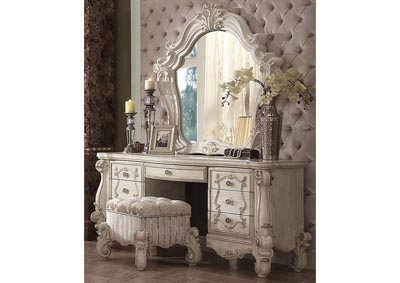 Image for Versailles Ivory White Vanity Desk