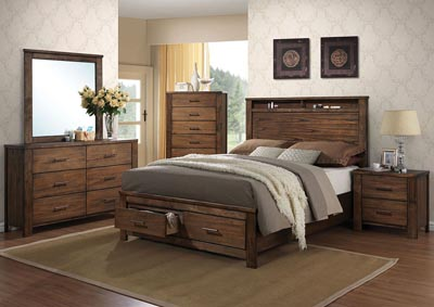 Image for Merrilee Oak Queen Bed