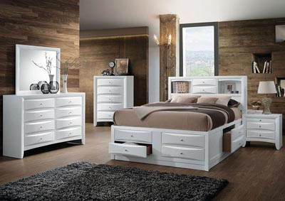 Image for Ireland White Queen Bed