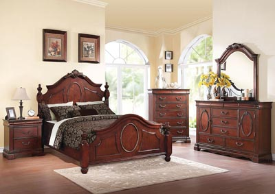 Image for Estrella Cherry Eastern King Bed