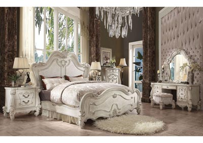 Versailles Bone White Eastern King Bed