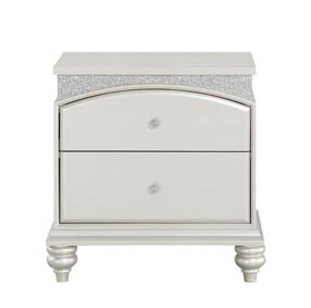 Maverick Platinum Nightstand