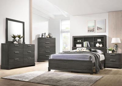Image for Lantha Grey Oak Dresser and Mirror