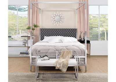 Image for Raegan Chrome Queen Bed