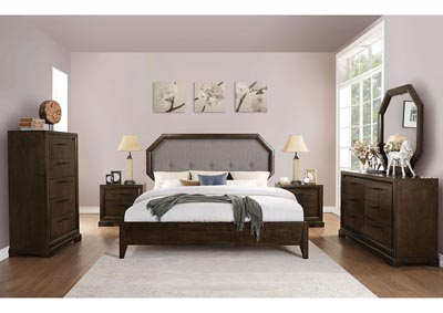 Image for Selma Gray/Tobacco Queen Bed