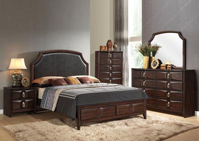 Image for Lancaster Espresso Dresser and Mirror