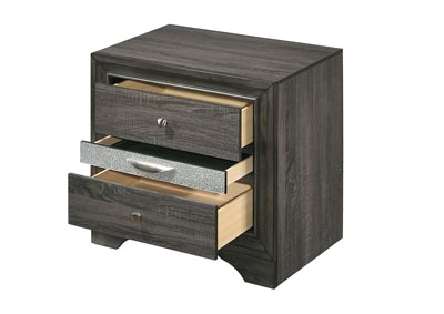 Naima Gray Nightstand