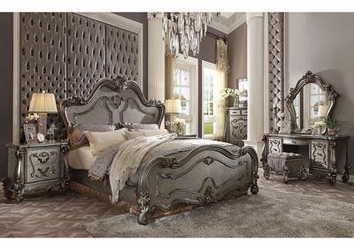 Versailles Antique Platinum California King Bed