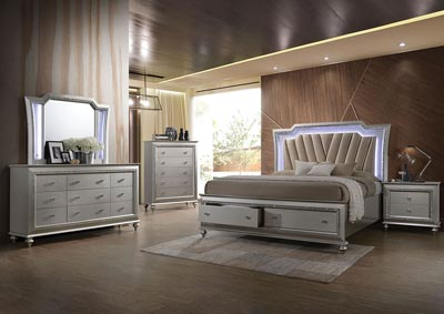 Image for Kaitlyn/Champagne California King Bed