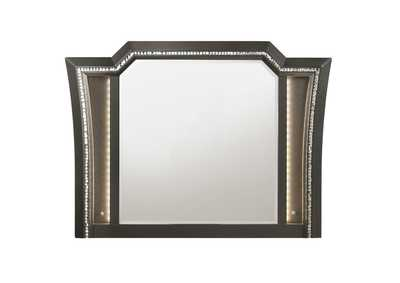 Image for Kaitlyn Metallic Gray Mirror