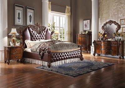 Vendome II Cherry Eastern King Bed