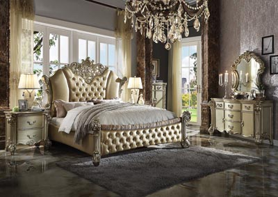 Vendome II Gold Patina Eastern King Bed