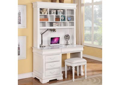 Image for Classique White Computer Desk