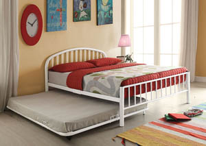 Image for Cailyn White Metal Full Bed