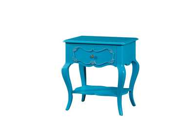 Image for Edalene Turquoise Nightstand