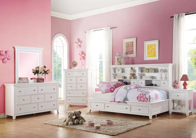 Image for Lacey White Dresser