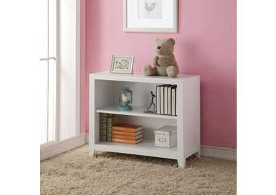 Lacey White Bookcase