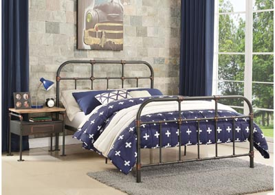 Nicipolis Ash Twin Bed