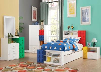 Playground Multi-Color Armoire