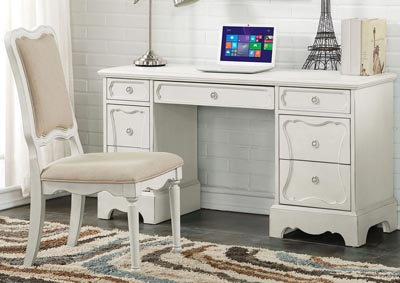 Image for Morre Antique White Desk