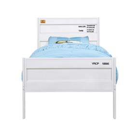 Cargo White Full Bed
