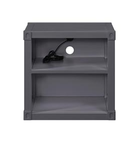 Image for Cargo Gunmetal Nightstand (USB)