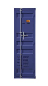 Cargo Blue Wardrobe (Single Door)