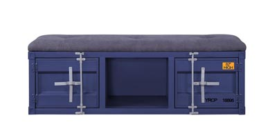 Cargo Blue Bench (Storage)