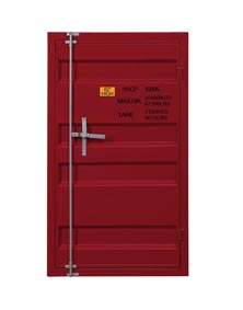 Image for Cargo Red Chest (Single Door)