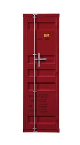 Image for Cargo Red Wardrobe (Single Door)