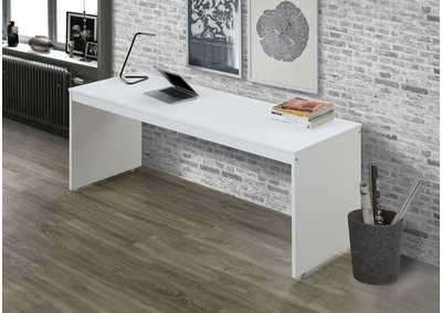 Image for Lawson White/Orange Desk