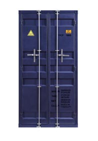 Cargo Blue Wardrobe (Double Door)