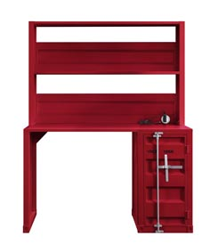 Image for Cargo Red Desk and Hutch