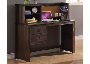 Hector Antique Charcoal Brown Desk
