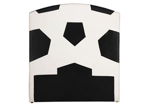 All Star Soccer Twin Headboard Only