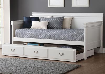 Image for Bailee White Twin Daybed
