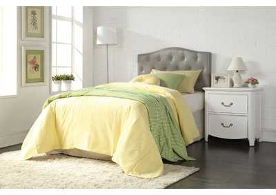 Viola Gray PU Queen/Full Headboard Only