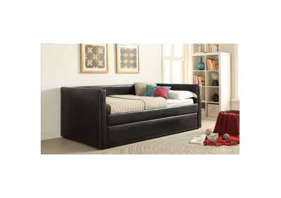 Aelbourne Black Daybed w/Trundle