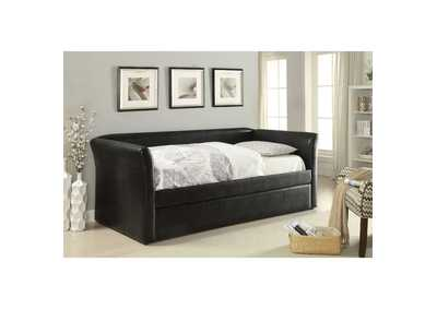 Image for Misthill Black Daybed w/Trundle