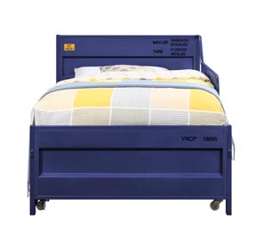 Cargo Blue Twin Daybed and Trundle