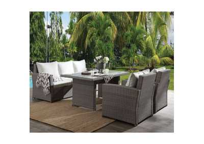 Tahan Two-Tone Gray 4 Piece Patio Set