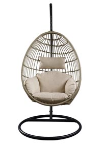 Vasant Patio Swing Chair with Stand