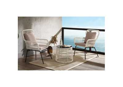 Kamea 3 Piece Patio Bistro Set
