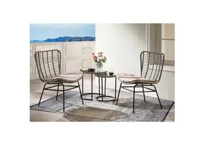 Kanga Black 4 Piece Patio Set