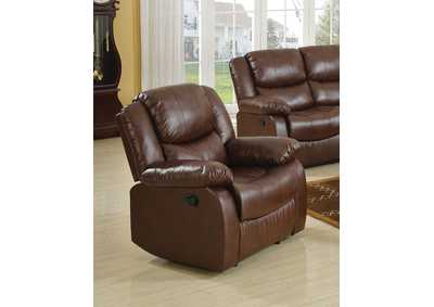 Image for Fullerton Brown Recliner